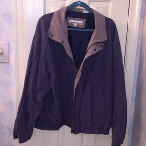Perry Ellis XL Jacket Blue/Gray Vintage